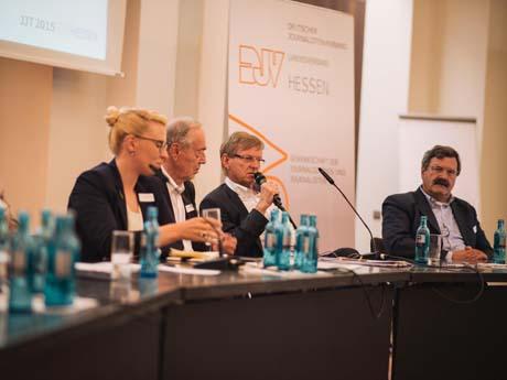 Hessischer Jungjournalistentag 2015: Nachwuchs trifft Experten
