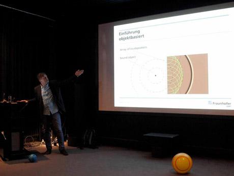 Vortrag zu 3D Sound