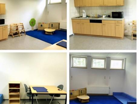 Eltern-Kind-Raum am Mediencampus in Dieburg