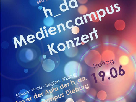 h_da Mediencampus Konzert am 19.06.2015 – Studenten in Aktion!