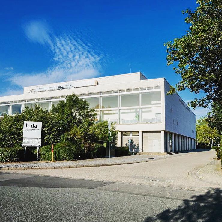 Anfahrt Mediencampus Der Hochschule Darmstadt