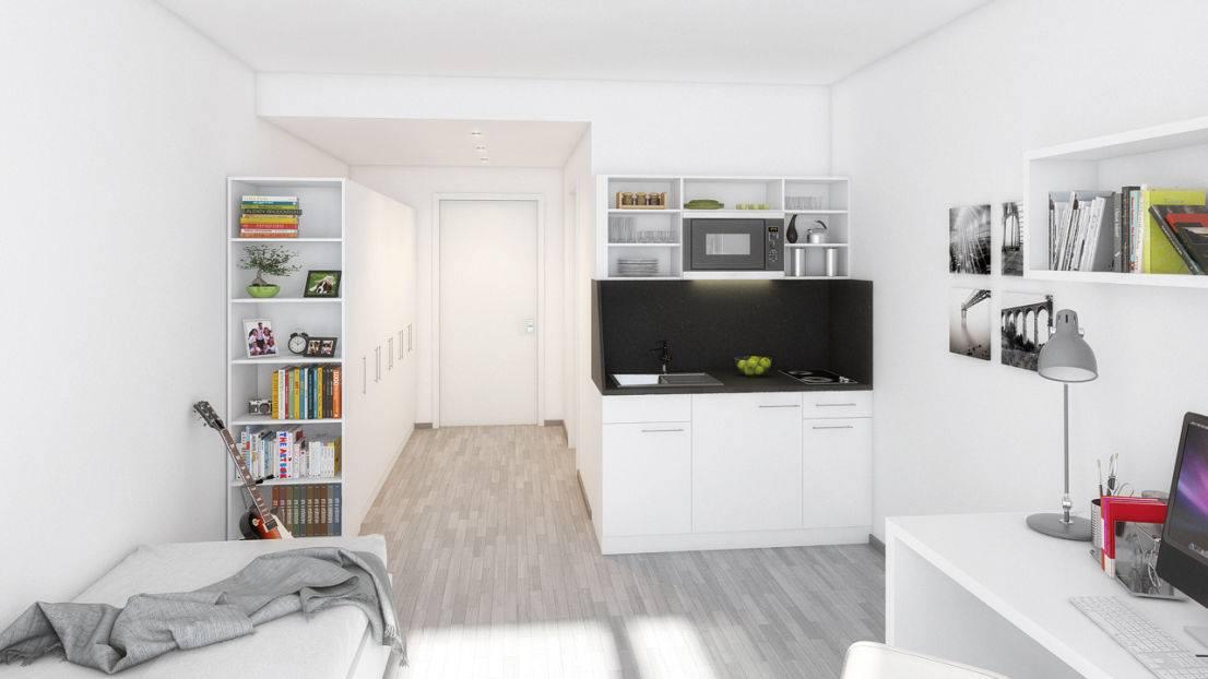wohnen mediencampus der hochschule darmstadt. Black Bedroom Furniture Sets. Home Design Ideas