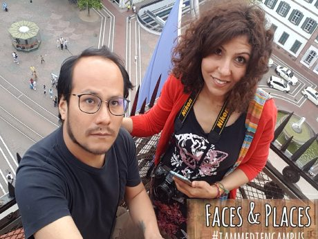 Faces & Places: Safaa Mahmoud and Diego Arandia