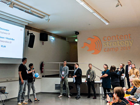 #cosca19: Inspirierende Einblicke ins Content Strategy Camp
