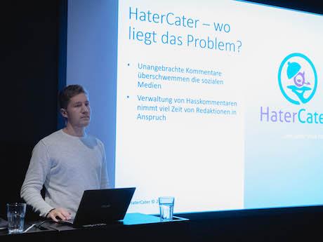 Gründer und Student? Das StartUp HaterCater