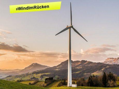 #WindImRücken – ordentlich Wind machen für eine bessere Zukunft!