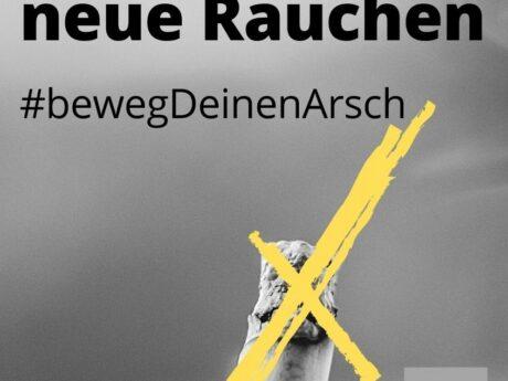 Onkomm goes campaigning #SitzenistdasneueRauchen