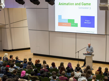 Animation and Game Information day and portfolio advice